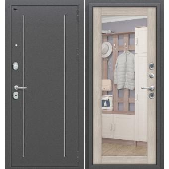 Металлическая входная дверь с зеркалом ДЗ-15