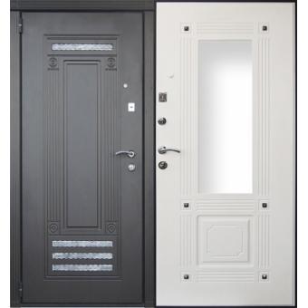 Металлическая входная дверь с зеркалом ДЗ-16
