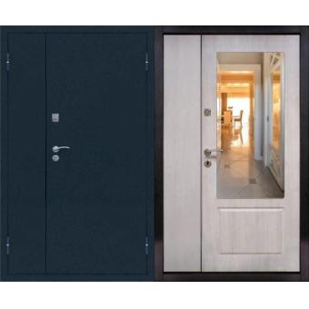 Металлическая входная дверь с зеркалом ДЗ-3