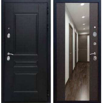 Металлическая входная дверь с зеркалом ДЗ-7