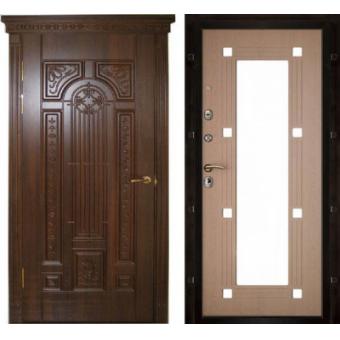 Металлическая входная дверь с зеркалом ДЗ-9