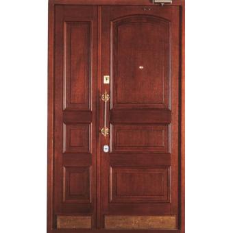 Металлическая входная дверь массив ДМ6