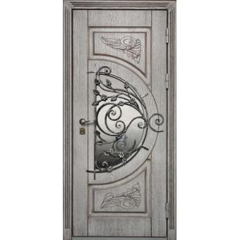 Металлическая входная дверь с ковкой ДК1