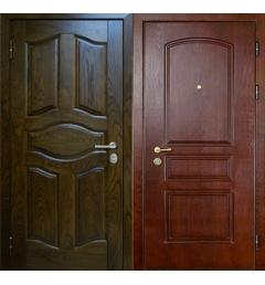 Металлическая входная дверь филенчатый МДФ - ФМД1