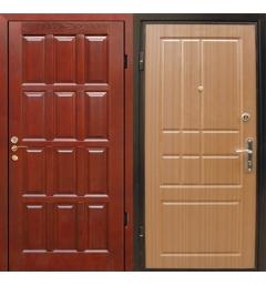 Металлическая входная дверь филенчатый МДФ - ФМД3