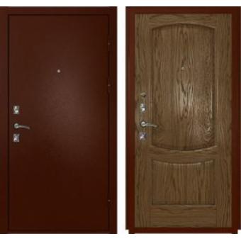 Дверь входная металлическая эконом-50