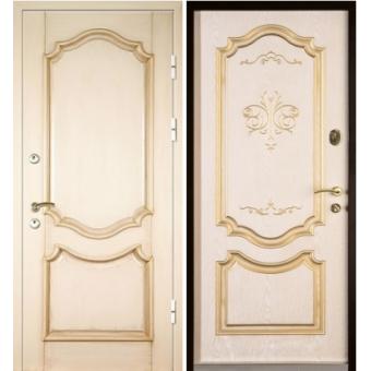 Металлическая входная дверь массив ДМ1