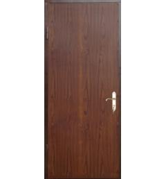 Металлическая входная дверь с порошковым напылением под дерево 3