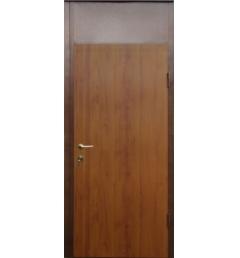 Металлическая входная дверь с порошковым напылением под дерево 4