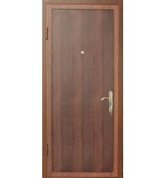 Металлическая входная дверь с порошковым напылением под дерево 7