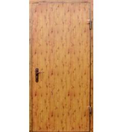 Металлическая входная дверь с порошковым напылением под дерево 8