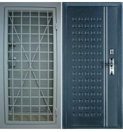 Стальная решетчатая дверь РД-2