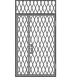 Стальная решетчатая дверь РД-5