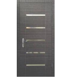 Входная металлическая дверь с молдингом МД-6
