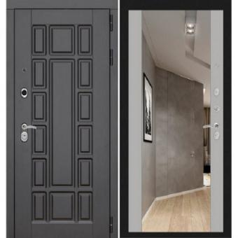 Металлическая входная дверь с зеркалом ДЗ-18